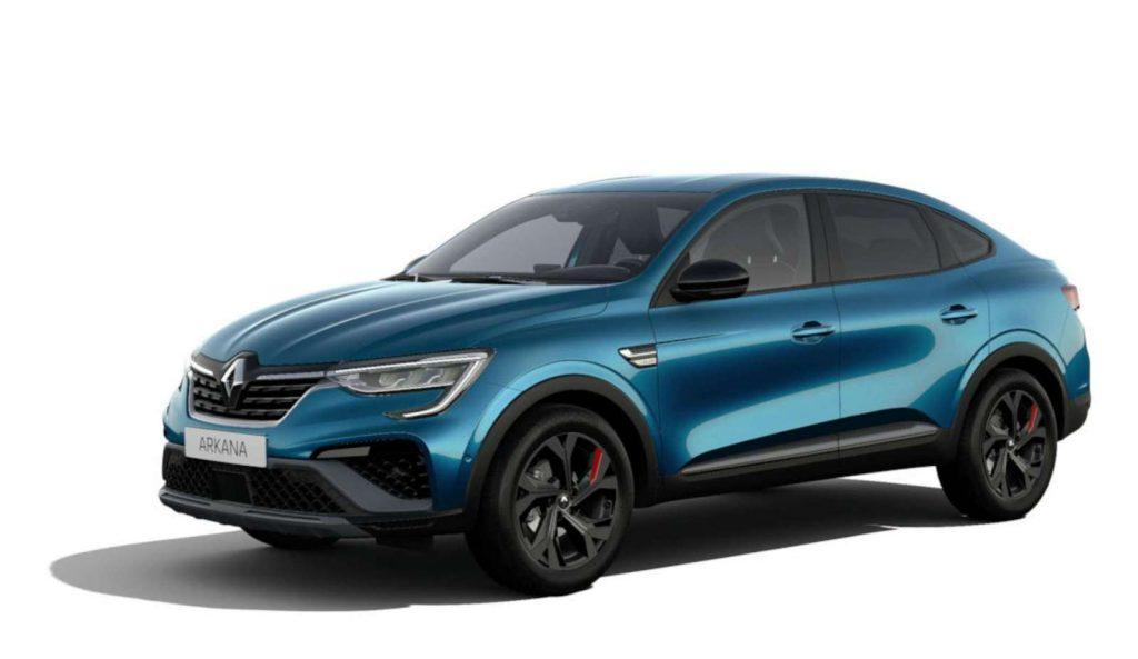 LNA Essai 2102 Renault ARKANA Couleur RS Bleu Zanzibar
