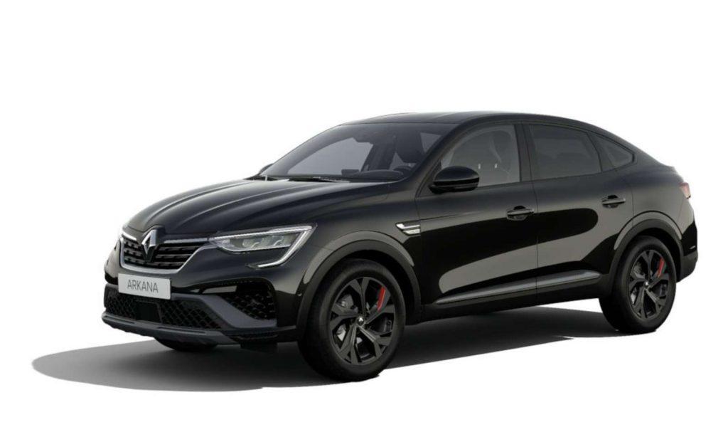 LNA Essai 2102 Renault ARKANA Couleur RS Noir Metal