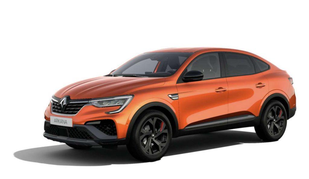 LNA Essai 2102 Renault ARKANA Couleur RS Orange Valencia