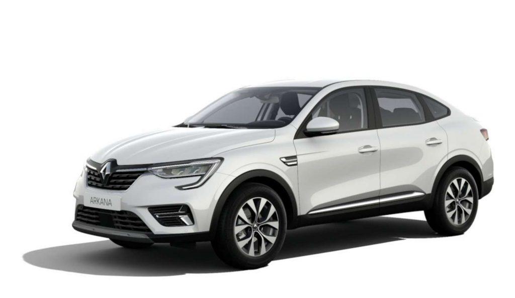 LNA Essai 2102 Renault ARKANA Couleur Zen Blanc Opaque 1