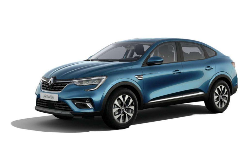 LNA Essai 2102 Renault ARKANA Couleur Zen Bleu Zanzibar