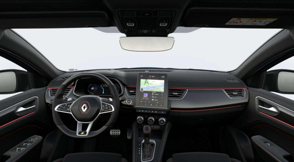 LNA Essai 2102 Renault Arkana Interieur RS Line
