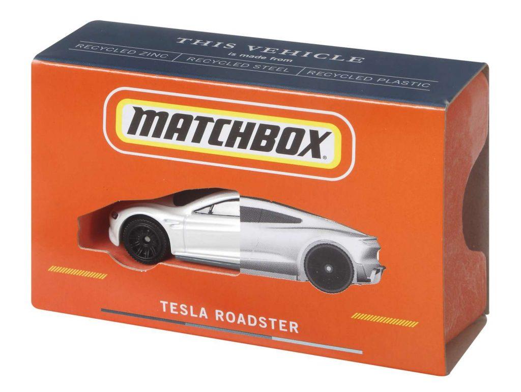 Matchbox Tesla Roadster 002