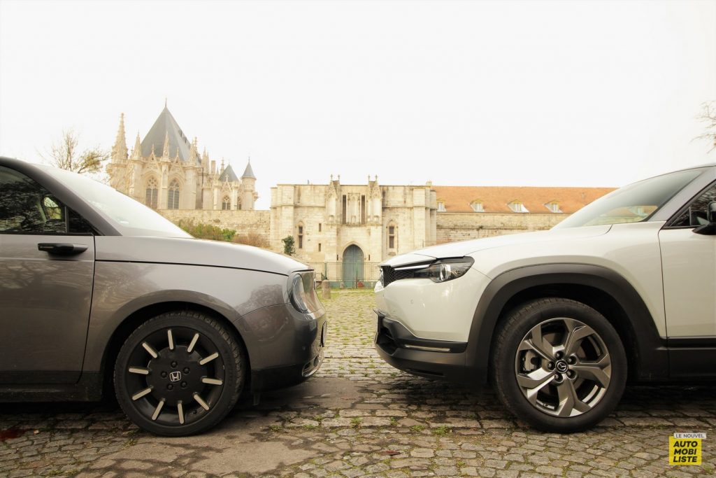Mazda MX 30 Honda e Dumoulin LNA 6