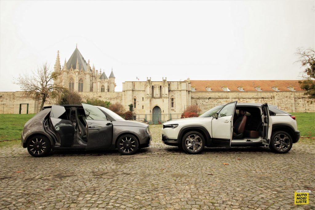 Mazda MX 30 Honda e Dumoulin LNA 7