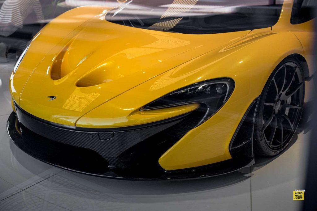McLaren P1 Yellow Maison McLaren Paris 2020 2