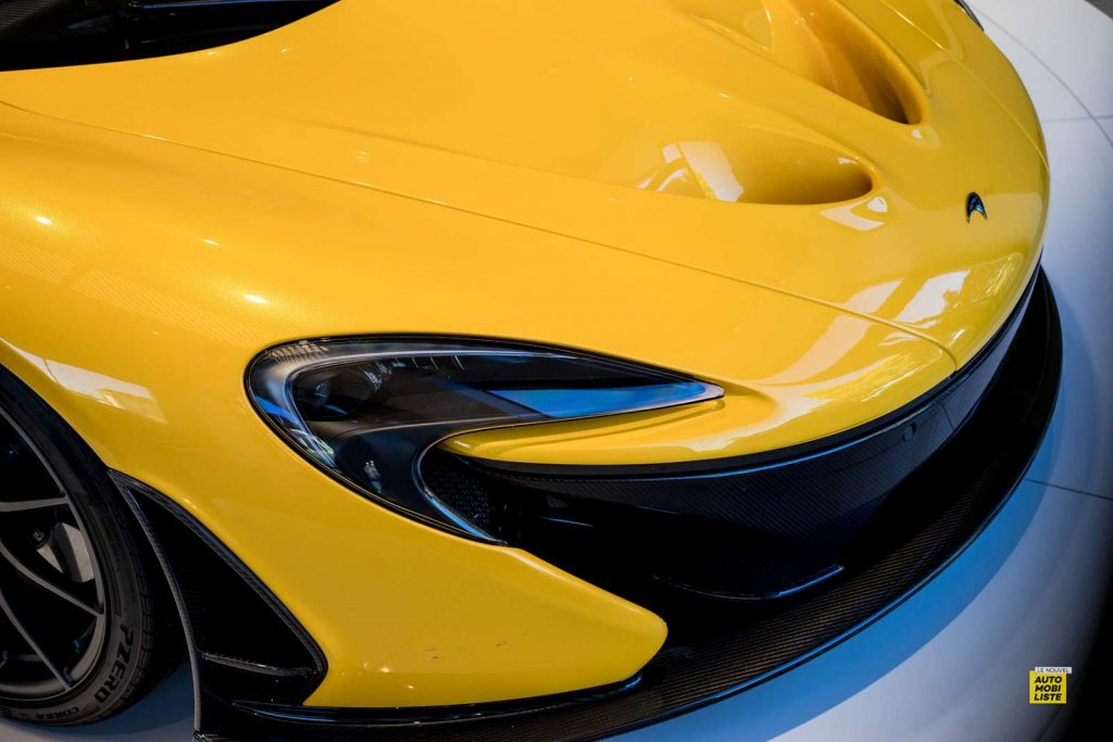 McLaren P1 Yellow Maison McLaren Paris 2020 4