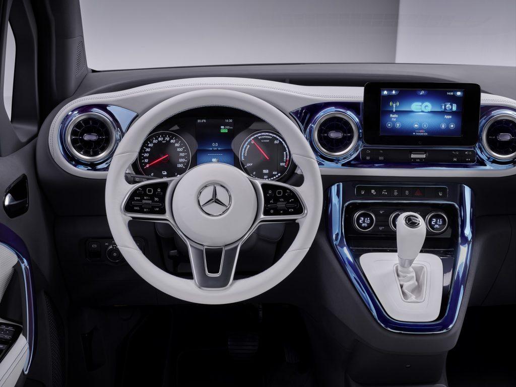 Mercedes EQT Concept Classe T Electrique Officiel 45