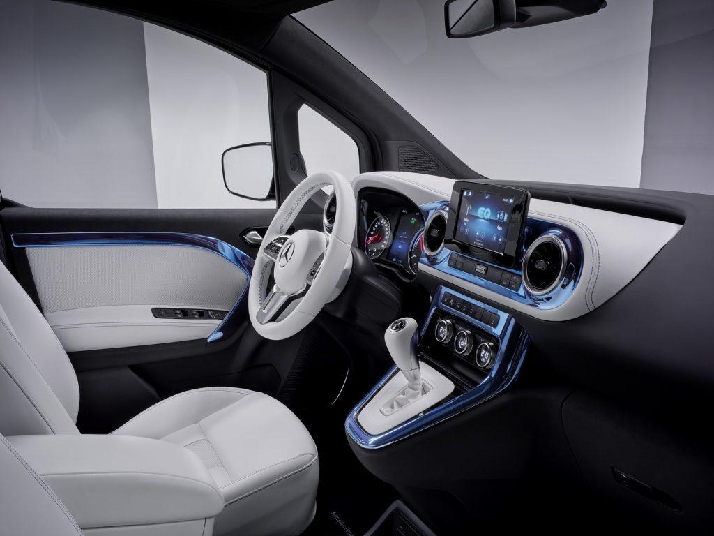 Mercedes EQT Concept Classe T Electrique Officiel 46