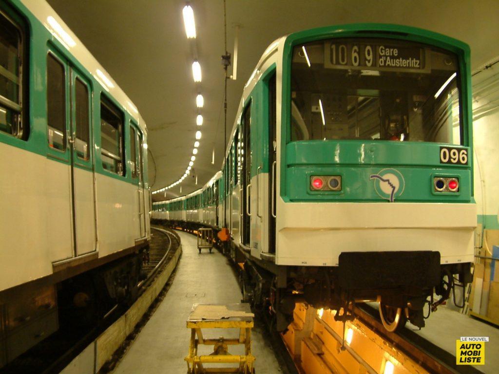 Métro Paris RATP MF67