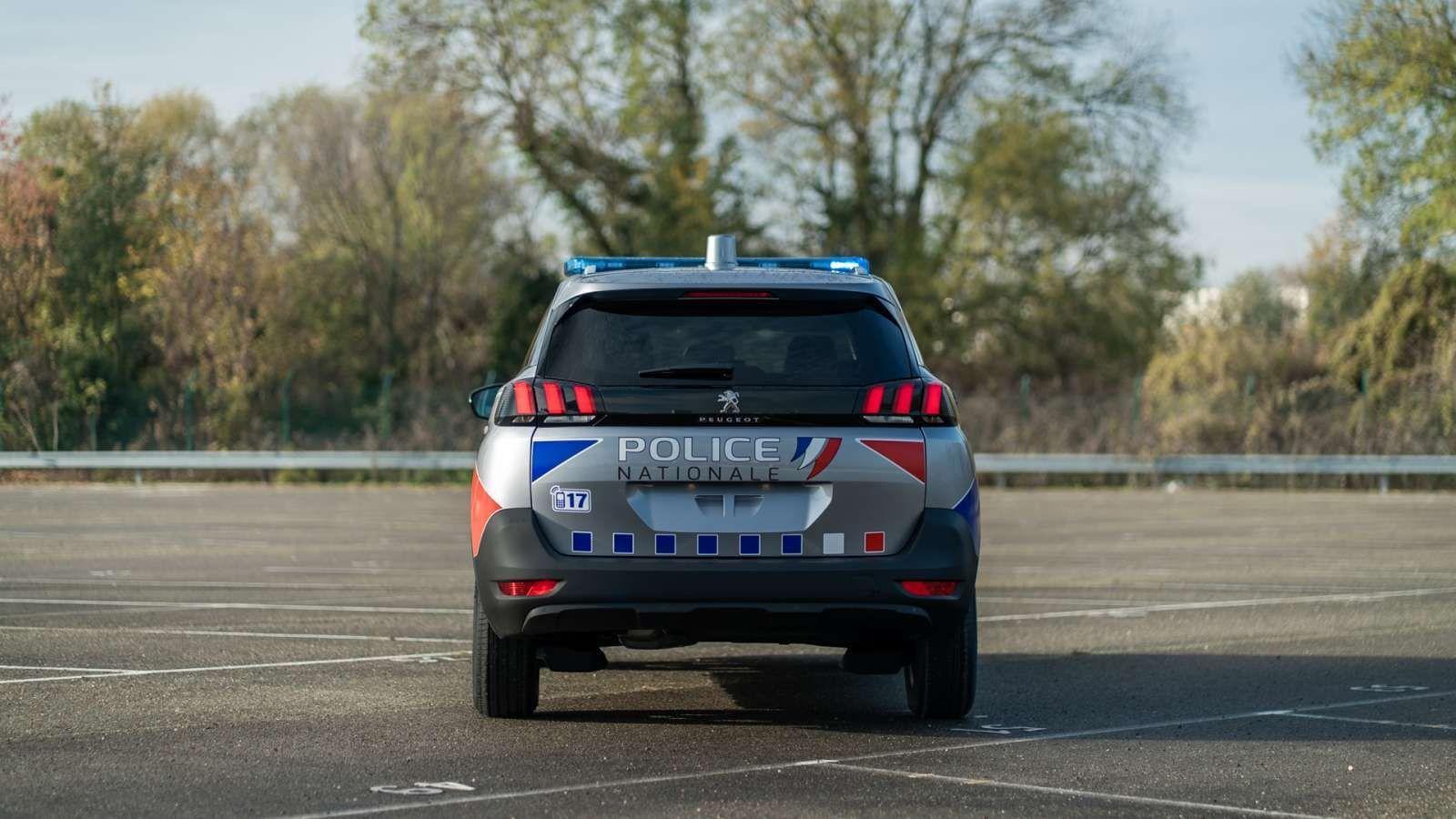 Peugeot 5008 police gendarmerie 6