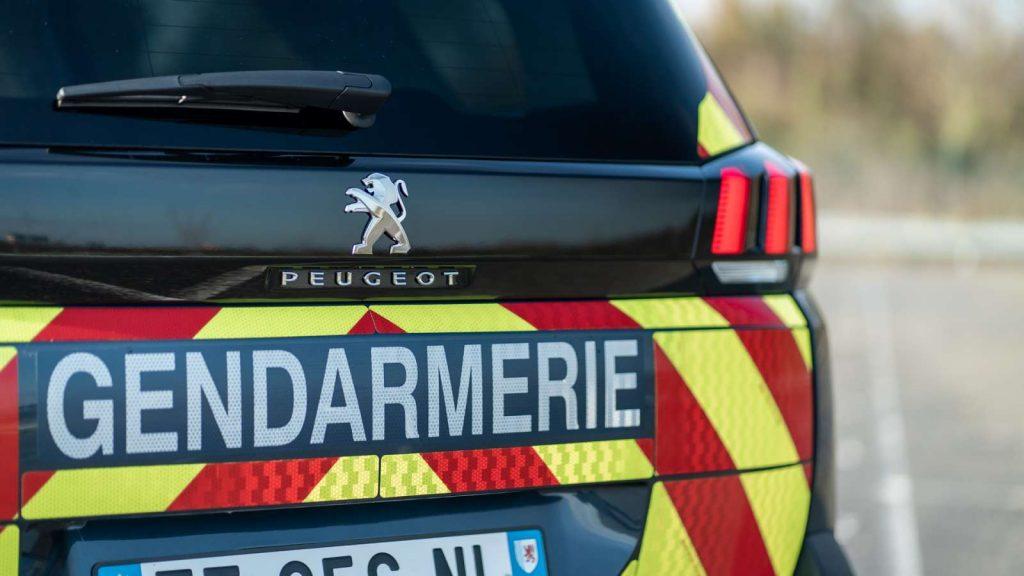 Peugeot 5008 police gendarmerie 8