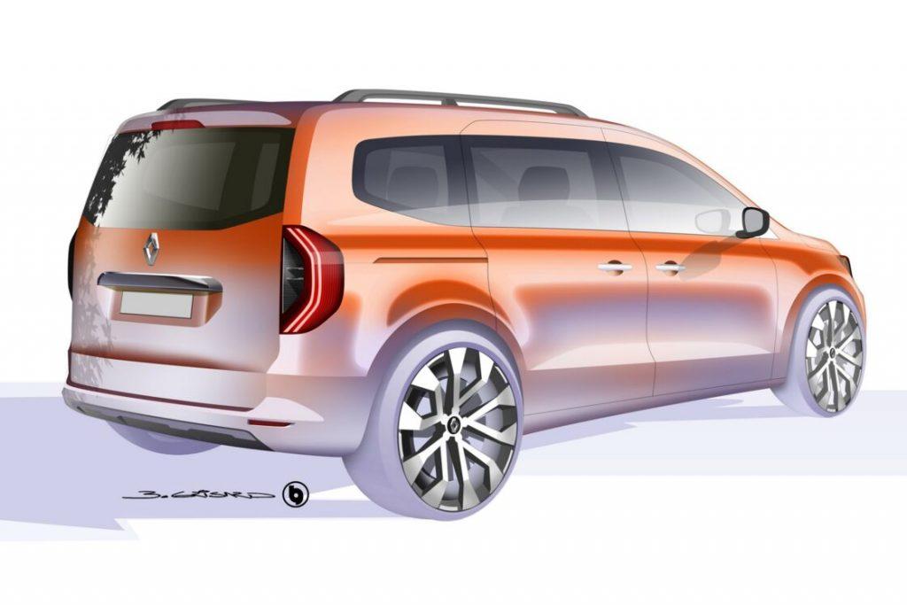 Renault Kangoo XFK sketch