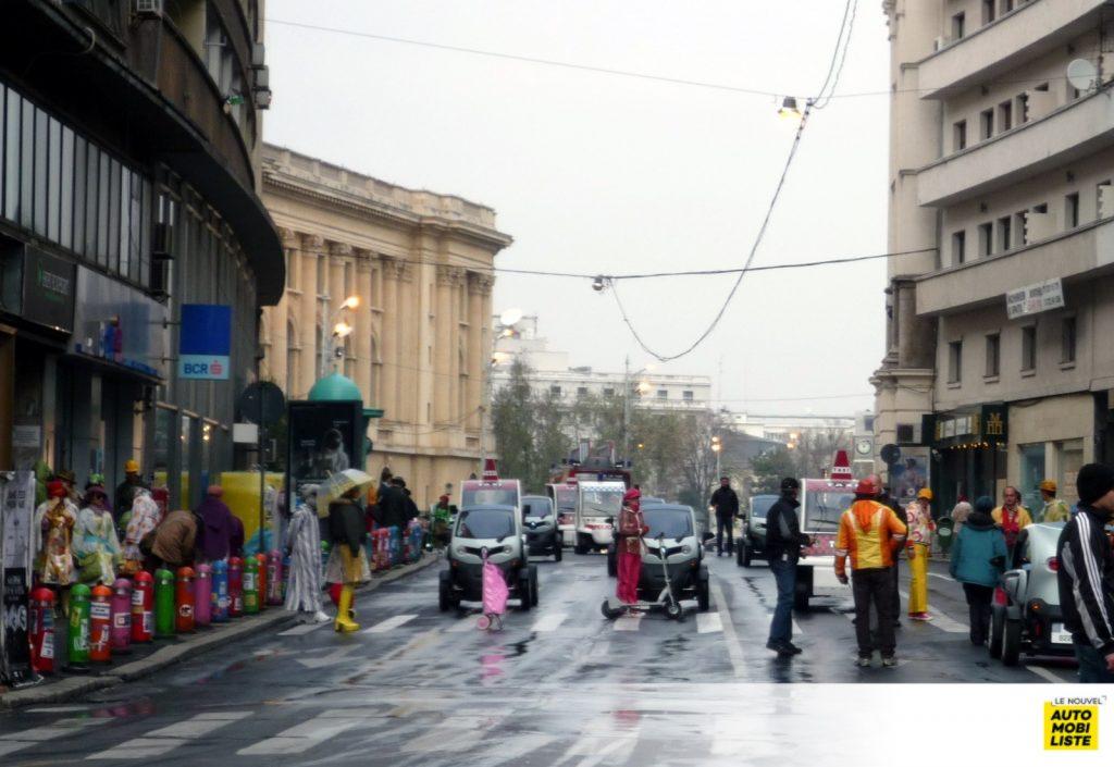 Matra Zoom Renault Twizy The Zero Theorem Barkas B1000 Bucarest