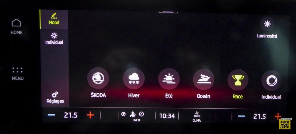 Skoda Octavia Business TDI 116 rouge Corrida Le Nouvel Automobiliste