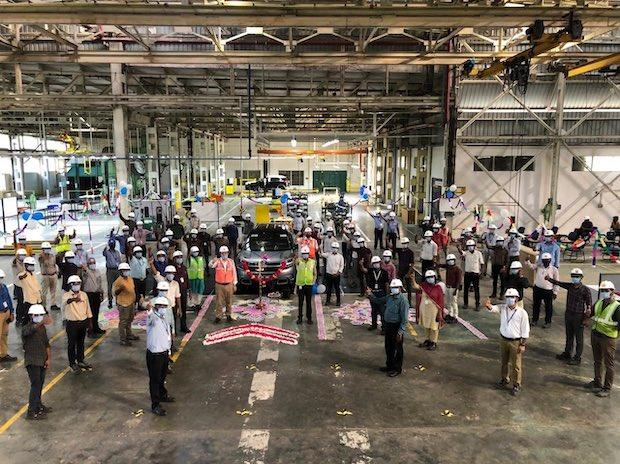 Start of C5 Aircross Assembly in India