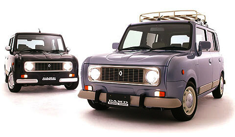 Suzuki Lapin DAMD Renault 4