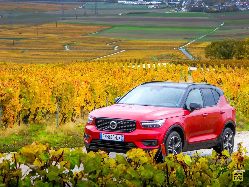 Volvo XC40 T5 Recharge R-Design Le Nouvel Automobiliste