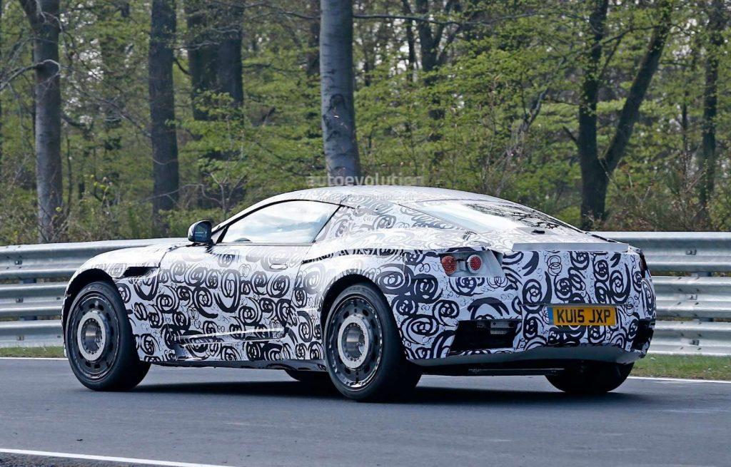 Aston Martin DB11 spyshots 2015