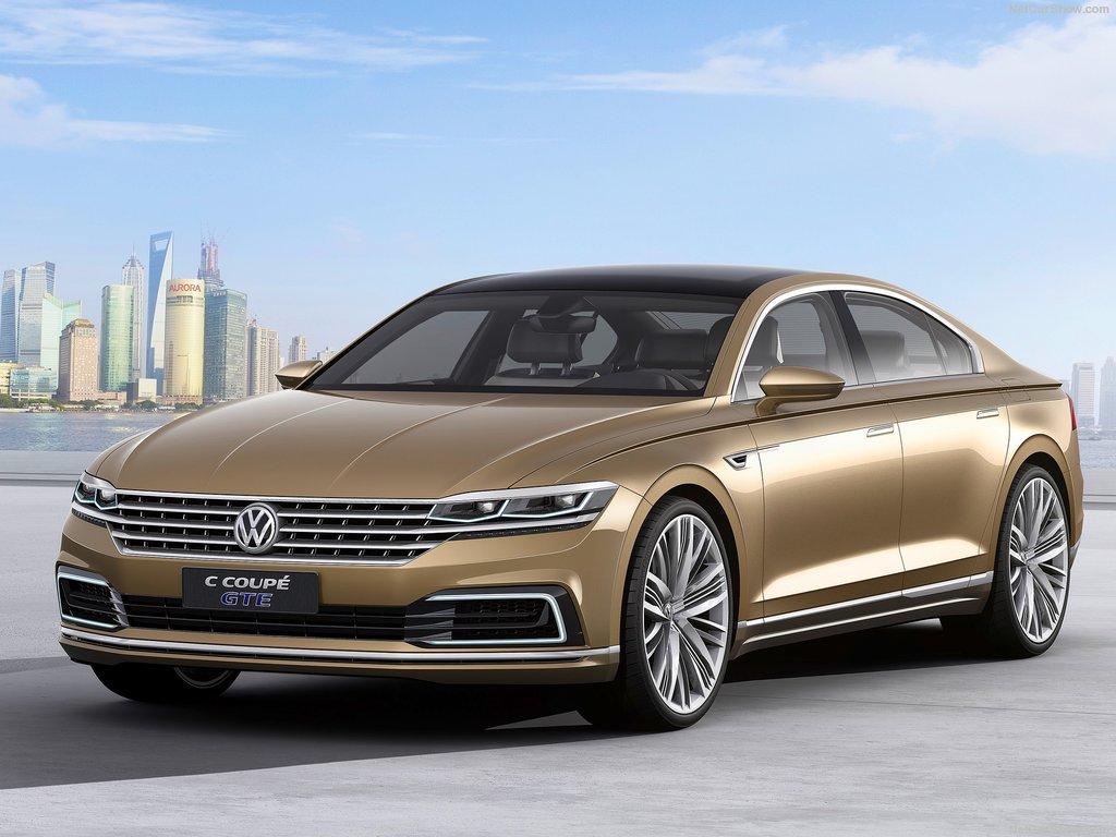 Volkswagen C Coupé Sport GTE concept 2015